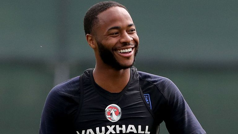 This image has an empty alt attribute; its file name is skysports-raheem-sterling-england_4341686.jpg